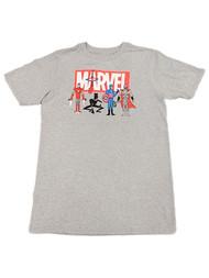 Boys Gray Marvel Black Panther Superhero T-Shirt Iron Man Tee Shirt