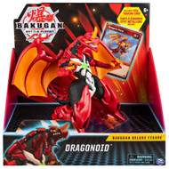 Bakugan Battle Planet Dragonoid Deluxe Action Figure with Trading Card