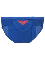 DC Comics Womens Blue Wonder Woman Bikini Briefs Panties Underwear XX-Large