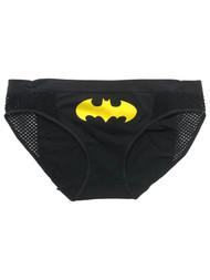 DC Comics Womens Black Batgirl Panties Bikini Briefs Batman Underwear