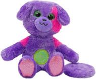 BiGiggles Take-Along, Chat-Back Plush Talking Purple Puppy Dog Stuffed Animal