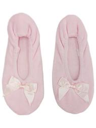 Womens Soft Sensations Light Pink Ballet Slippers Slip On House Shoes S 5-6