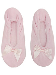 Womens Soft Sensations Ivory Ballet Slippers Slip On House Shoes S 5-6