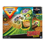 Monster Jam Official Zombie Madness Vehcle Playset with Zombie Monster Truck