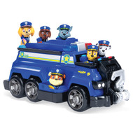 Paw Patrol Chase's Total Team Rescue Police Cruiser Vehicle with 6 Pups Playset