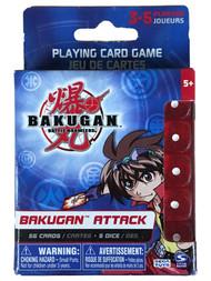 Bakugan Battle Brawlers Game Bakugan Attack Playing Card Game