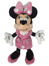 Disney Minnie Mouse 14 inch Plush Stuffed Animal Pal, Pink Polka Dot