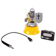 HEXBUG Micro Titans Knight, HEXBUG Micro Titans Knight, Remote Controlled Yellow Robot