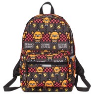 """Five Nights at Freddy's All Over Print 17"""" Backpack, School Book Bag"""