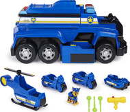 Paw Patrol Chase's 5-in-1 Ultimate Cruiser with Lights and Sounds, Large Playset