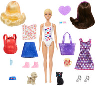 Barbie Day-to-Night Color Reveal Doll & 25 Surprises, Dog Park to Movie Night