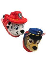 Paw Patrol Toddler Boys Puppy Dog Slippers Marshall & Chase House Shoes 7-8