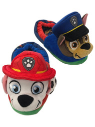 Paw Patrol Toddler Boys Puppy Dog Slippers Chase & Marshall House Shoes