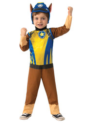 Paw Patrol Toddler Boys Chase Police Puppy Dog Costume with Pup Pack 3T-4T