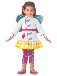 Butterbean's Cafe Toddler Girls Butterbean Costume 3T-4T