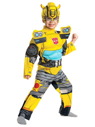 Disguise Toddler Boys Transformers Bumblebee Muscle Costume Bumble Bee
