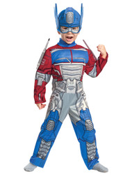 Disguise Toddler Boys Transformers Optimus Prime Muscle Torso Costume