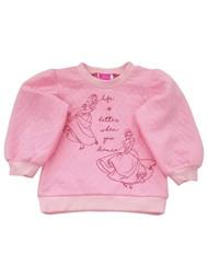 Disney Princess Toddler Girls Pink Snow White Cinderella Dance Sweatshirt