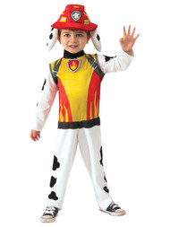 Paw Patrol Dino Rescue Toddler Boys Marshall Fire Pup Costume 3T-4T