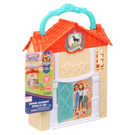 DreamWorks Spirit Riding Free Riding Academy Stow N' Go Playset with 1 Horse