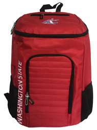 """WSU Cougars Top Loader 19"""" Backpack with Tech Pocket & Laptop Sleeve"""