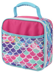 Arctic Zone 4 Piece Mermaid Lunch Box Set, Insulated Lunch Bag Lunchbox