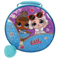 Lol Surprise Round Miss Baby Insulated Lunchbox with Pom Pom, Lunch Bag