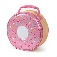 Arctic Zone Big Donut Insulated Lunch box, Glittery Lunch Bag Lunchbox
