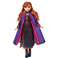 Disney Frozen 2 Anna Fashion Doll with Long Red Hair & Movie Outfit
