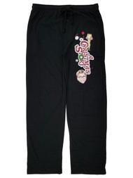 A Christmas Story Mens Black Lounge Pant Sleep Pants Pajama Bottoms Large