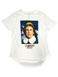 Elf Movie Womens Juniors White Buddy Christmas Holiday T-Shirt Tee Shirt