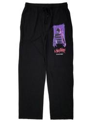 A Nightmare On Elm Street Mens Black Lounge Pant Sleep Pants Pajama Bottoms S