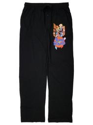 Space Jam A New Legacy Mens Black Lounge Pant Sleep Pants Pajama Bottoms