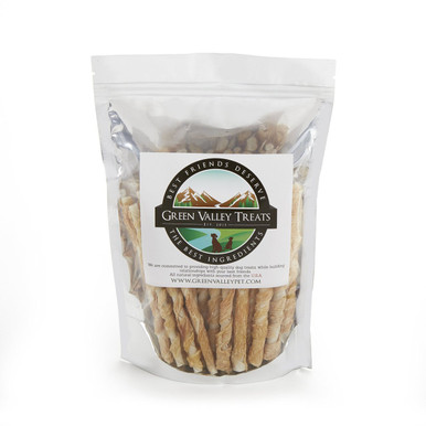Package Size: 250 Chews  Bonus Offer: SAVE NOW | Upon your purchase, you will receive FREE 5 ounces of Chicken Jerky plus FREE Shipping!