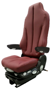 GraMag BURGUNDY SYN LEATHER SELECT SEAT