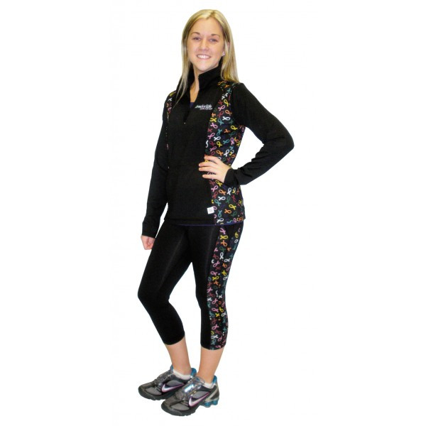 c58f6bc7c69532 Cancer Awareness Exercise Pants All Cancer Support Clothing Live for ...