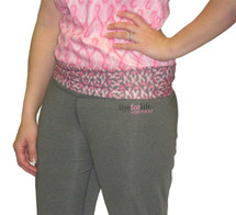 Breast Cancer Awareness Flare Yoga Pant by Live for Life