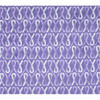 Purple Ribbon Cancer Awareness Active Wear T-Shirt by Live for Life detail of fabric pattern