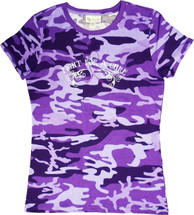 Purple Camo Cancer Awareness Tee by Live for Life