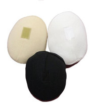 Poly Fil Breast Forms in black, nude, and white by Softee by Ladies First