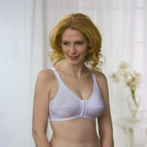 Almost U Front Closure Mastectomy Bra