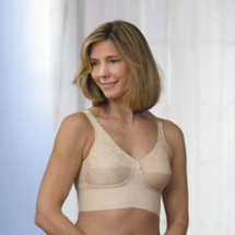 Almost U Wide Band Mastectomy Bra