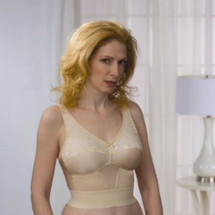 Almost U Long Line Mastectomy Bra