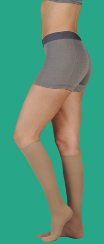 Juzo Dynamic Unisex Knee High with Open or Closed Toe 20-30 or 30-40 mmHg