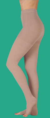 Juzo Dynamic Pantyhose with Open or Closed Toe 30-40 mmHg (Open Crotch Optional)