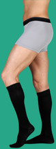 Juzo Soft Unisex Knee High with Silicone Border 20-30 or 30-40 mmHg