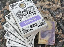 All Natural Bath Soap by Spinster Sisters Co