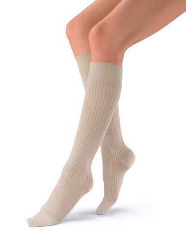 soSoft Knee High Ribbed 15-20, 20-30 or 30-40 mmHg