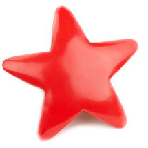 AniMails Mail-able Red Star and no Package Necessary!