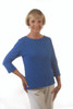 WearEase Reversible T in Royal Blue